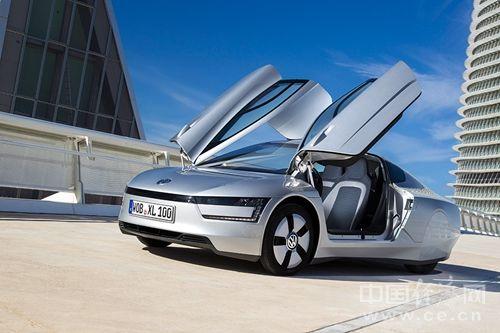 大众将投产超节能车xl1 高清图片
