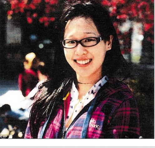 被害人加拿大华裔蓝可儿(资料图)