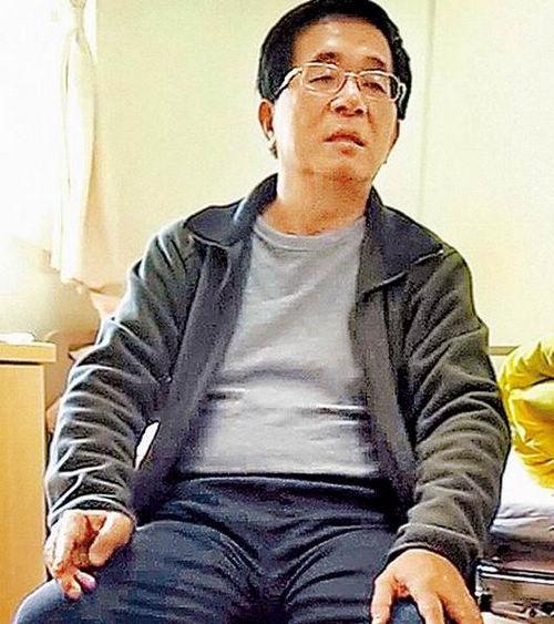 陈水扁日前传出有右手抖动、眼神呆滞的状况,如今他又自爆,年初一起床时发现自己尿床。图片来源:台湾《苹果日报》