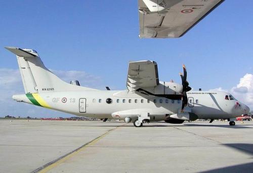 意大利现役atr-42mp多功能巡逻飞机