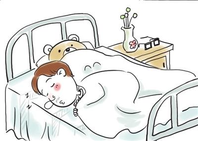 六只睡觉的小猫简笔画 可爱