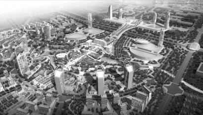 自贡东北部新城规划效果图(部分)-川南腹地 自贡打造东北部新城 培