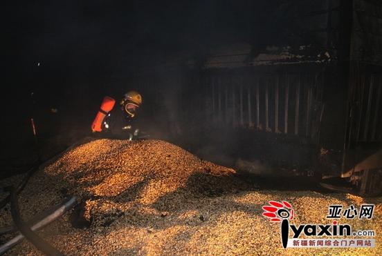 3月22日凌晨1时20分许,塔城市的驾驶员邓师傅驾驶着满载50吨玉米的半