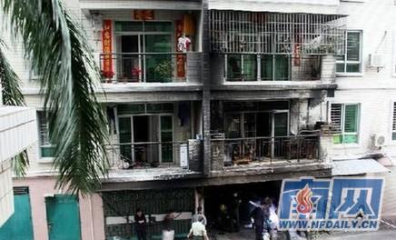 广东茂名市电白县一小区发生火灾致5死5伤图片