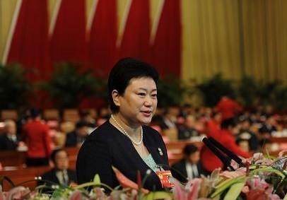 全国人大代表、山东艺术学院副院长刘晓静_资