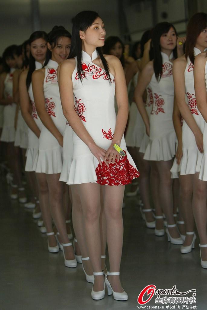 f1中国站赛车女郎惊艳瞬间