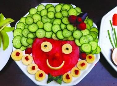 > 正文   黄瓜,圣女果,西兰花,香蕉,洋葱……这些常见的蔬菜水果能拼