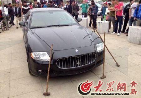 玛莎拉蒂   今天上午,2013第12届青岛国际汽车工业博览会在