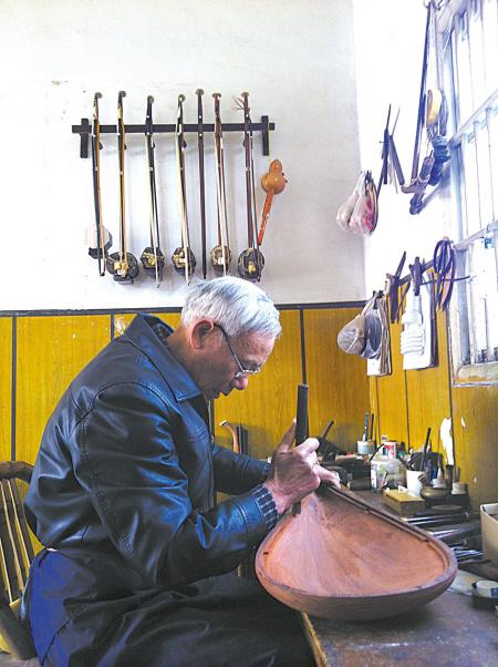 琵琶,长笛,箫……20多种乐器