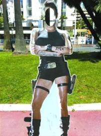 杰哥街头涂鸦牛仔裤