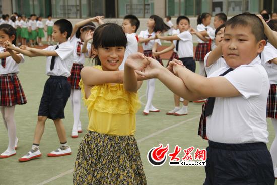 舜耕小学舞蹈大赛庆祝儿童节