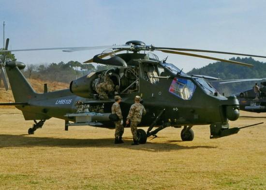 俄媒 解放军陆军航空兵已装备60架武直 10攻击直升机