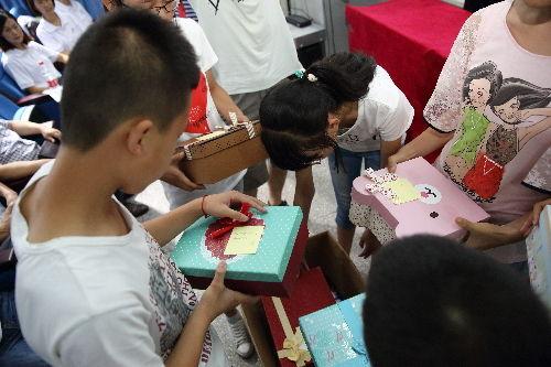 蒲公英梦想书屋正式启幕 留守儿童关爱行动起航
