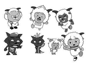 喜羊羊毁童年漫画集