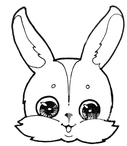 简 笔画 小 动物 小 白兔 简 笔画 儿童 简 笔画 动物