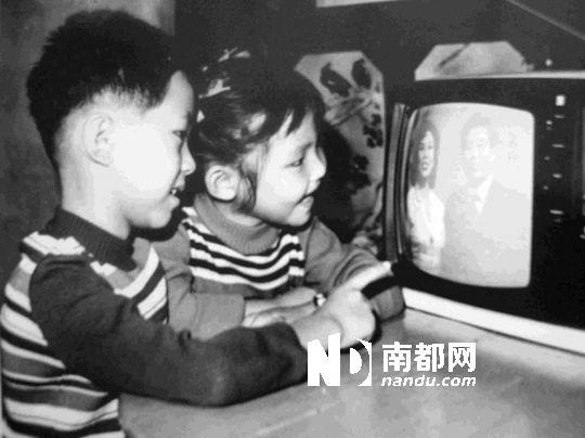 """这是一部日产""""乐声""""12寸黑白电视机.受访者供图"""