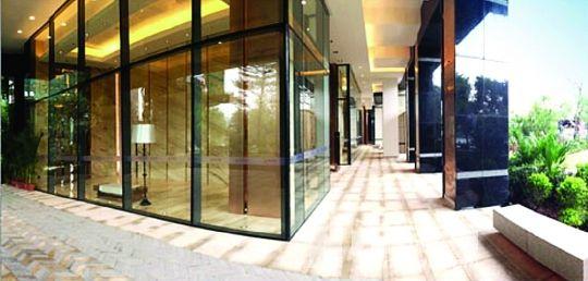 中信西关海广州首创透景架空连廊开放图片