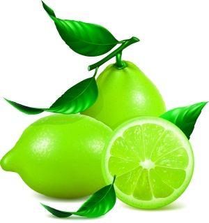 清新青柠檬图片