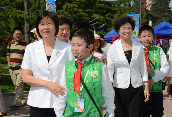 """放飞梦想""""主题活动在中国儿童"""