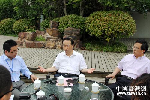 江苏省台办主任:提升优质服务 打造台商精神家