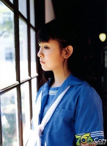 """盘点日本高中校园里的""""制服美少女""""(组图)"""