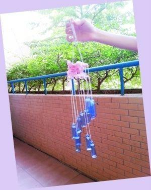 折纸装垃圾花篮步骤图解