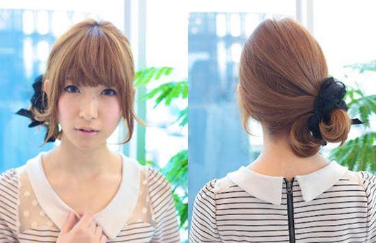 """日本男性票选""""最可爱女孩发型"""" 简单马尾夺魁"""