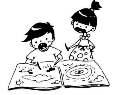 动漫 简笔画 卡通 漫画 手绘 头像 线稿 400_324