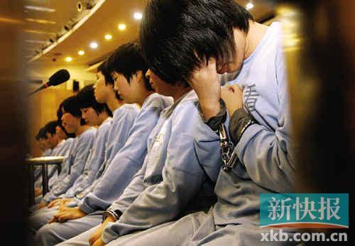 ■正在接受审判的女犯罪嫌疑人.(资料图片)-广东洗冤录图片