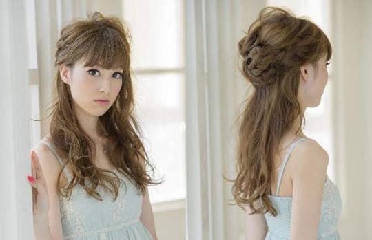 """日本男性票选""""最可爱女孩发型"""""""
