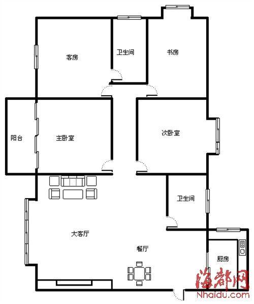 不得改变房屋内部结构分割出租,不得按床位等方式变相分割出租.