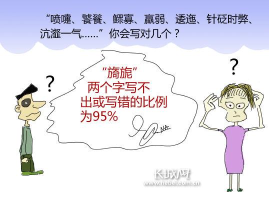 【漫画新闻】中国人汉字书写力退化引人忧族狼哈小少年漫画图片