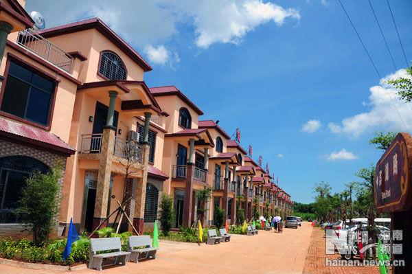 海南澄迈:旅游新景点 农民幸福村