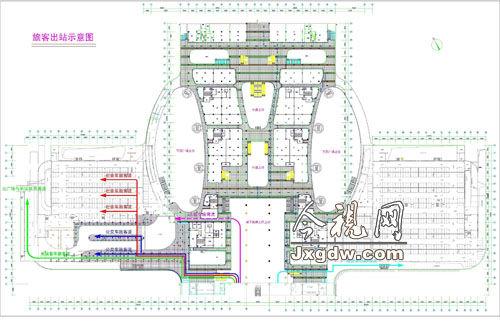 南昌西客站9月26日投入运行 交通组织方案出炉图片