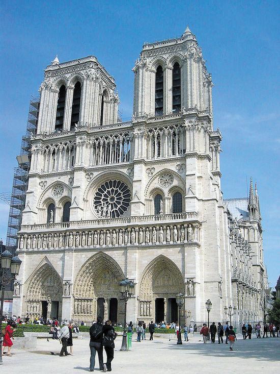 除了典型的欧式特色建筑