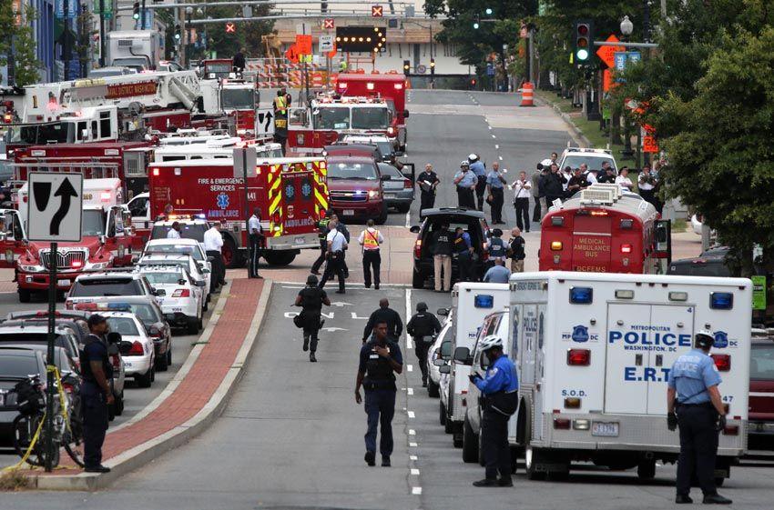 美国华盛顿市中心发生枪击案
