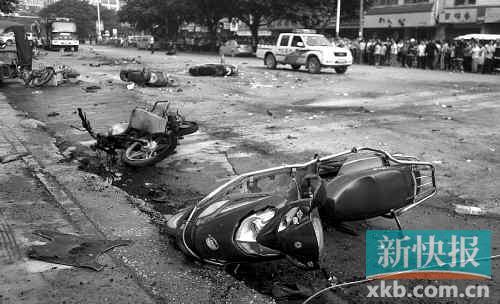 昨日7时10分左右发生在灵川县八里街的爆炸案,截至当天17时,案件已