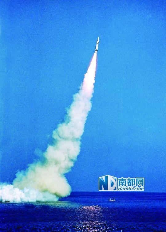 1988年,战略导弹核潜艇发射运载火箭取得成功。