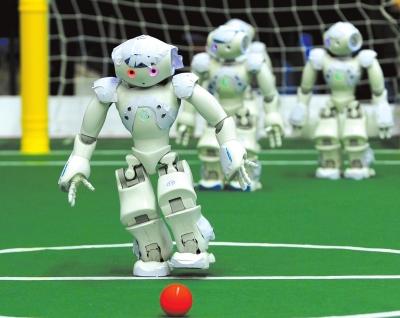 机器人 足球赛