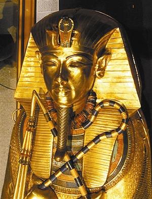古埃及最年轻法老死于 车祸图片
