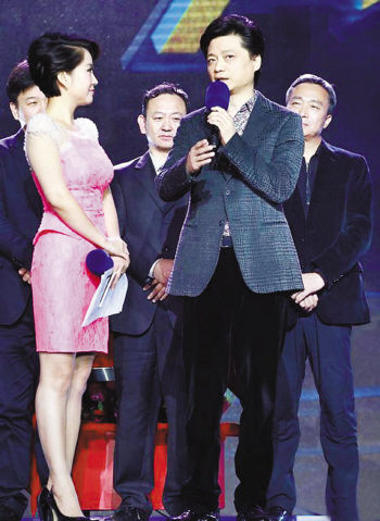 """首次以节目嘉宾身份亮相.当河南卫视主持人朱冰介绍道:""""崔永元离"""