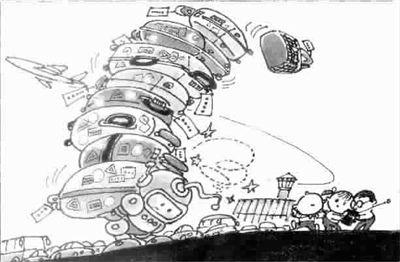 平粮机器人结构设计及运动仿真