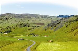 美丽的冰岛自然风光。 东方IC供图
