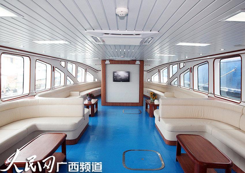 欧式古典游轮船舱照片