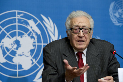 联合国和阿盟叙利亚问题联合特别代表卜拉希米。(图片来源:联合国网站)