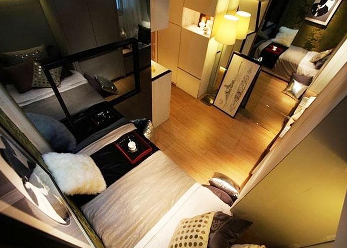 10平米出租房如何当豪宅住?