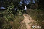 """在陶文胜很小的时候,父辈们经常说起蛟溪当年繁华的景象。得知摄影师的来意,他主动提出当导游,带着我们""""游岛""""。"""
