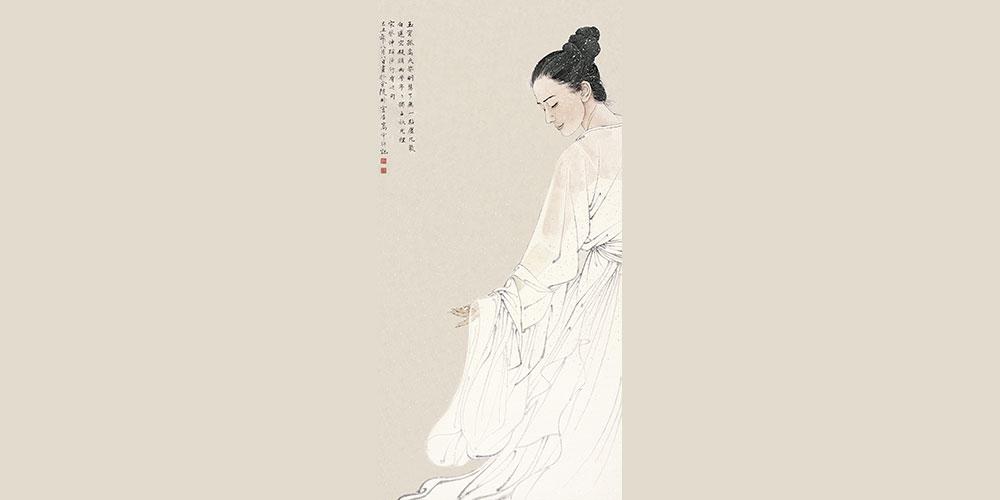 《了无一点尘凡气》(入选第九届中国艺术节) 。