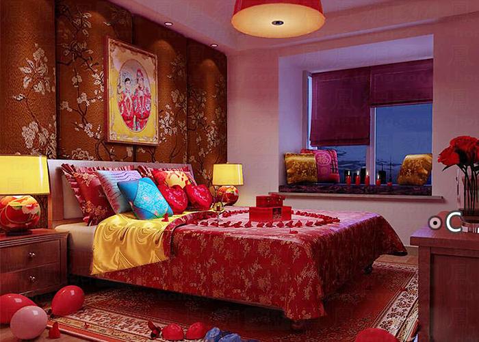 婚房卧室装修效果图推荐-居家