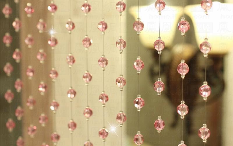 浪漫水晶帘